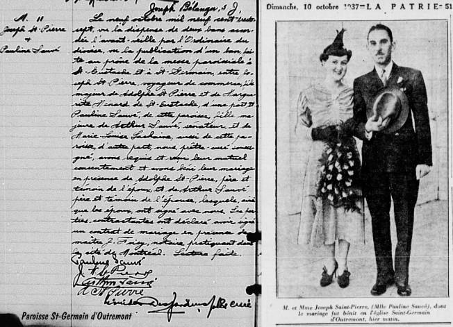 1937-10-09 - mariage